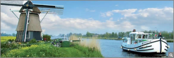 Penichette canal boat - Holland