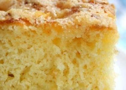 Безумно вкусный и простой-сахарный пирог