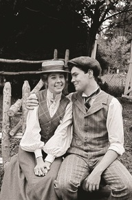 Anne and Gilbert from Anne of Green Gables! Yes! Totally grew up with this movie