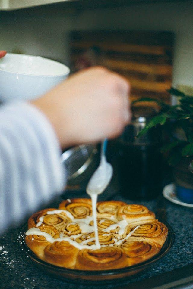 GOLDMINE JOURNAL: A Christmas Breakfast + Easy Cinnamon Rolls
