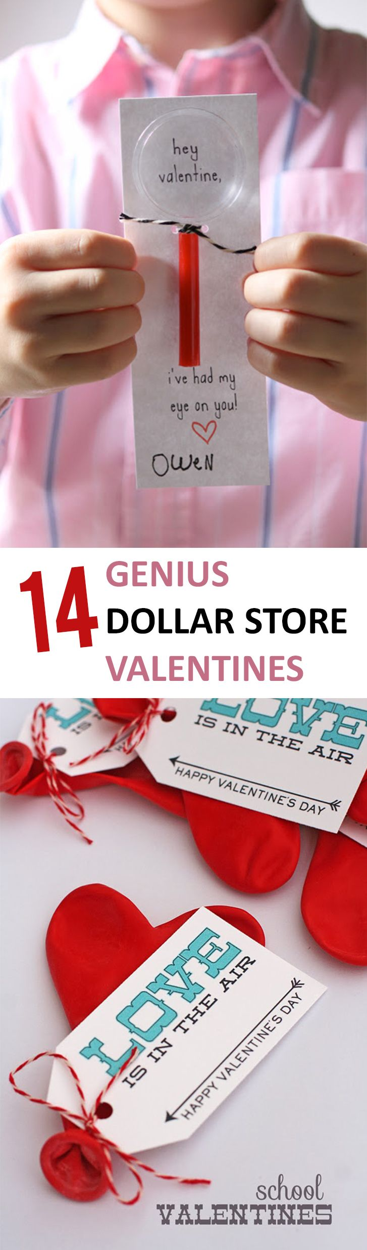 14 Genius Dollar Store Valentines - Sunlit Spaces