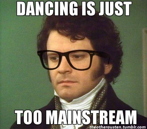 DancingNotforme Darcy Pride and prejudice