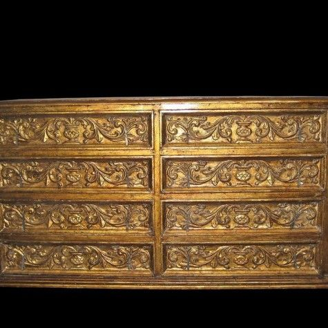 20 best decorative wooden carved spanish colonial art for Spanish baroque furniture