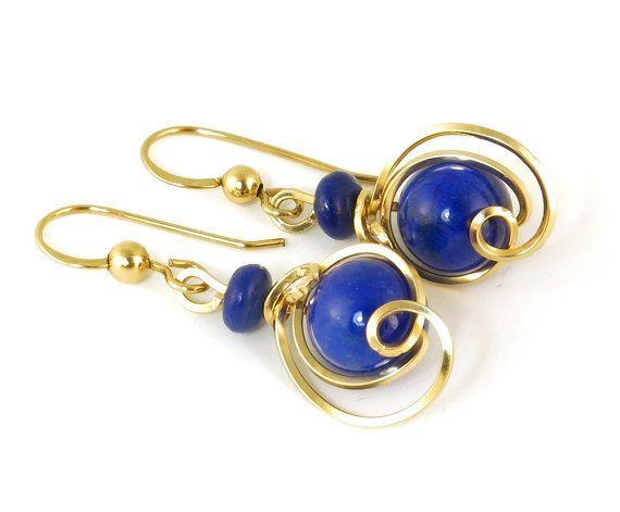 Lapis Lazuli by shazzabeth on Etsy #Jewelryonetsy #etsy #jewelry #blue #handmade #jetteam #oneofakind #eleven13