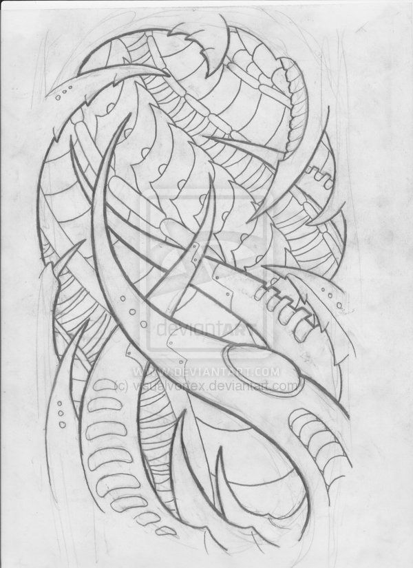 Biomechanical Tattoo Line Drawing : Best images about biomechanical organic on pinterest