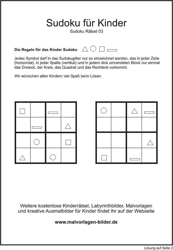 die besten 25 sudoku kinder ideen auf pinterest sudoku