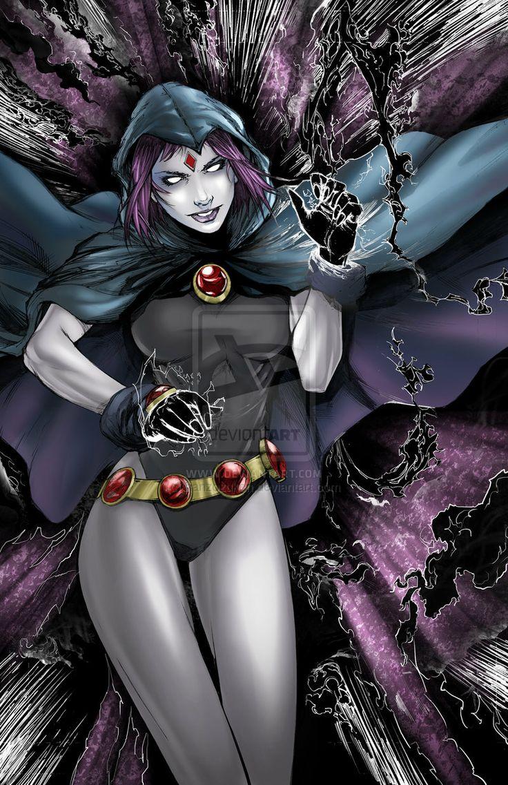 Raven from Teen Titans Colors by hanzozuken.deviantart.com on @deviantART