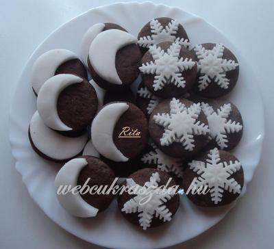 Fahéjas, marcipános kekszek   www.webcukraszda.hu