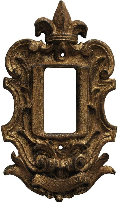 Fleur De Lis Renaissance Switch Plates Outlet Covers