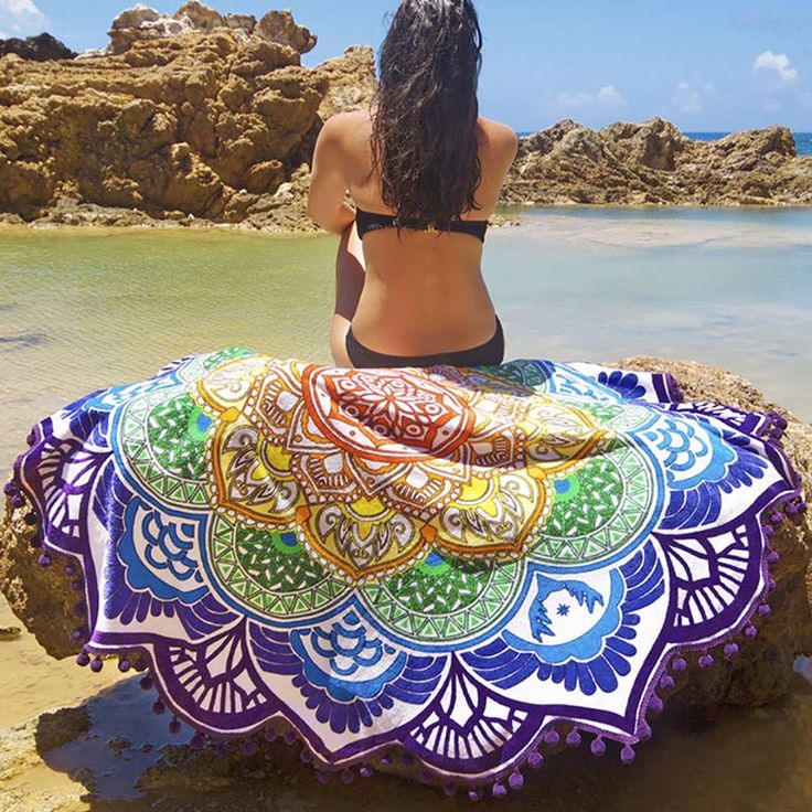 Beach Towel Tassel Yoga Mat Carpet Tapete Doormat Tapestry Indian Mandala Blankets Bathroom Carpet Camping Mattress 7 Color -in Tapestry from Home & Garden on Aliexpress.com | Alibaba Group