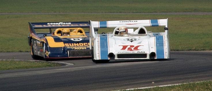Mark Donohue, George Follmer Mid Ohio 1973, Porsche 917's . .30 & 10