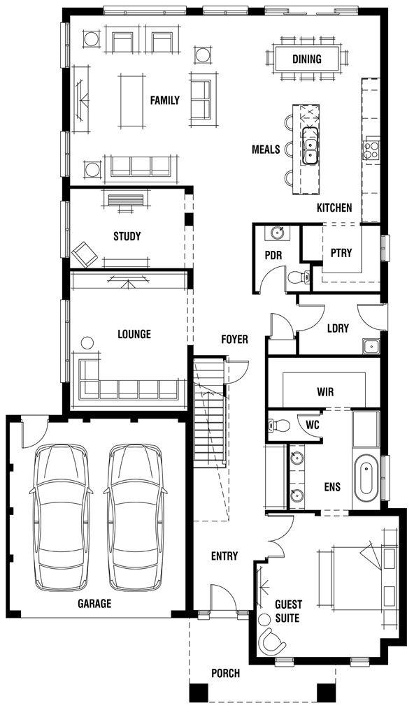 House Design Sandringham Porter Davis Homes Decor