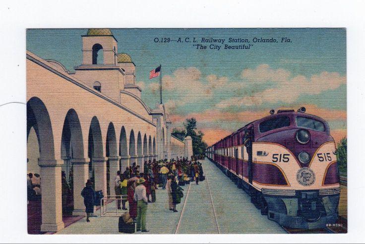 Orlando fl railway station railroad station orlando