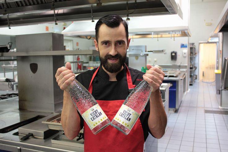 https://flic.kr/p/MSk2r4 | El chef David Heras Fayos, del restaurant Delicius (Balneari Vichy Catalan)
