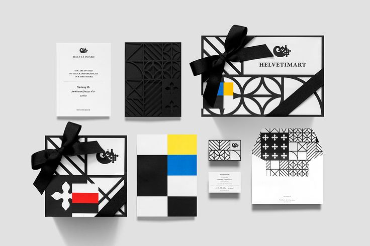 Logo, stationery and packaging by Anagrama for Lausanne-based independent food and speciality supermarket Helvetimart
