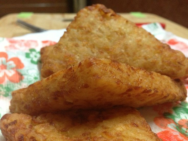 Hash Browns (like McDonalds) - How To Make Fast Food Style Hash Browns