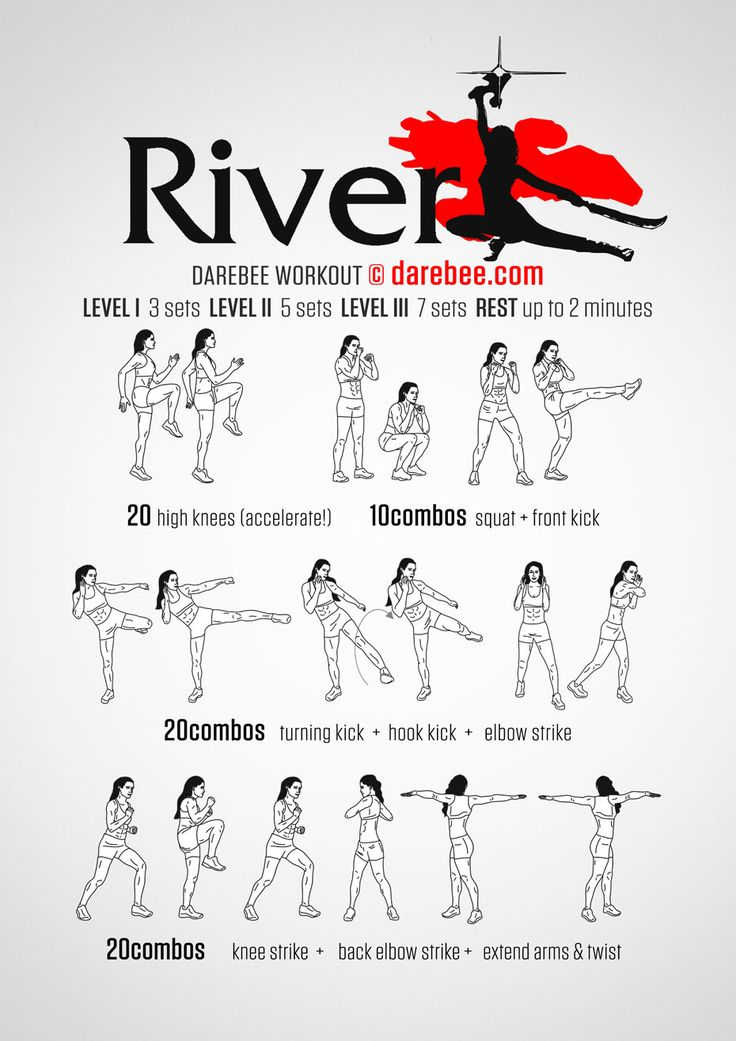 River Tam workout