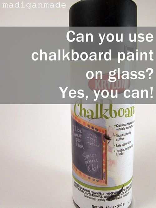 17 best ideas about chalkboard spray paint on pinterest