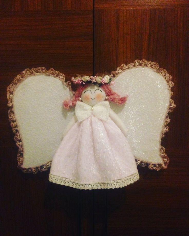 kızçeler için melek kapı süsü...