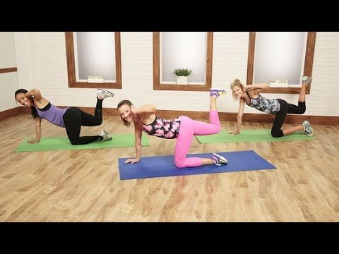 The 30-Minute Sayonara Cellulite Workout! | Class FitSugar--requires a foam roller : (