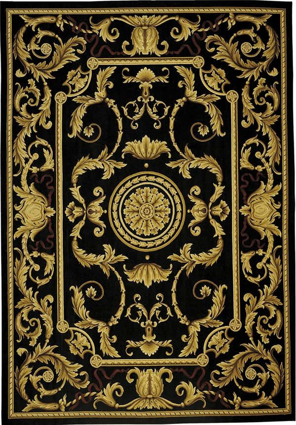aubusson rugs gold rug comforter sets color black black gold area rugs