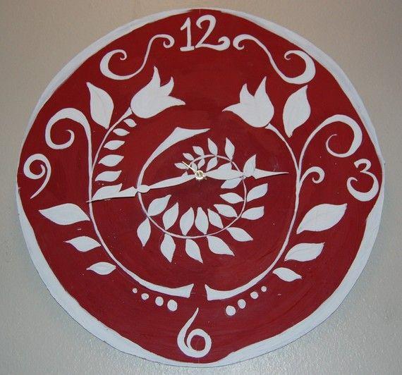 White Kitchen Wall Clocks