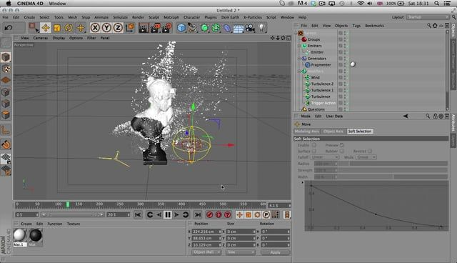 quick tutorial on how to use the x-particles fragmentor object for peeling effects.  get the file here http://slouchcorp.com/wp-content/uploads/2014/05/PeelTute.c4d.zip