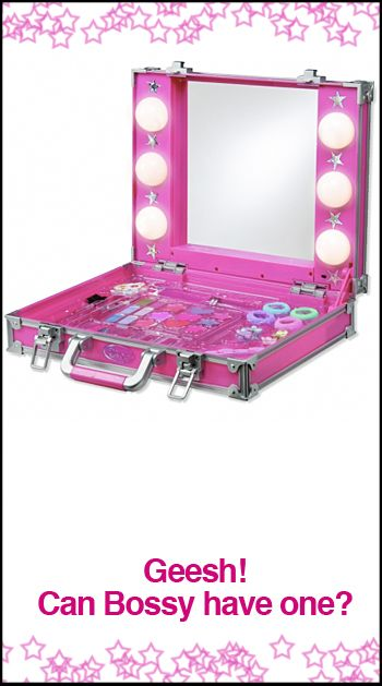 glitter-glam-makeup-kit. Its for a little girl but I want it!