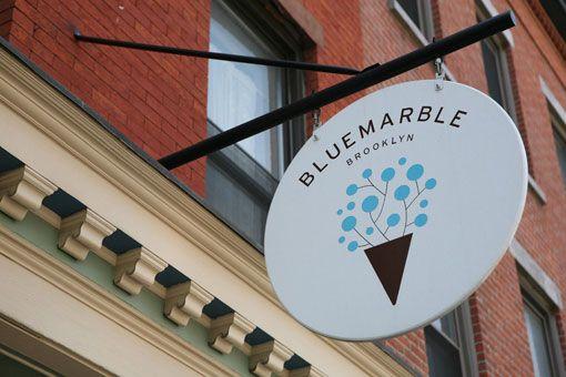 Gabriele Wilson Design: Blue Marble Ice Cream Identity