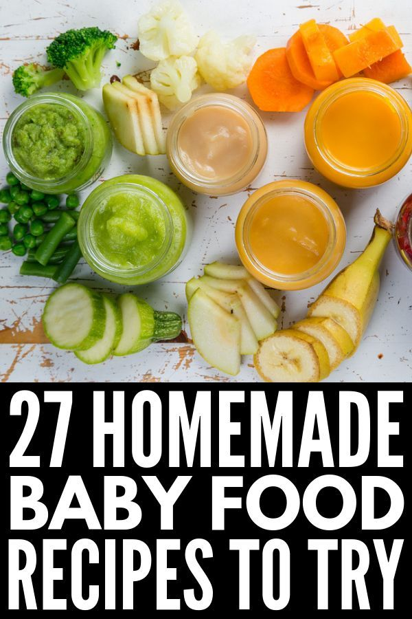 Hausgemachte Babynahrung zubereiten: 27 Tipps, Hacks und Rezepte   – Hattie