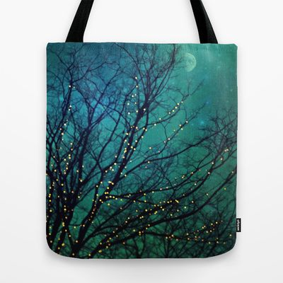 magical night Tote Bag by Sylvia Cook Photography - $22.00