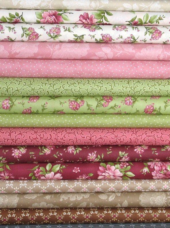 Graceful Moments Cotton Quilt Fabric Bundle, 14 Fabrics, Maywood Studio, Fat Quarter, Yardage, Cotton Quilt Fabric Bundle, Fabric for Sale by fabric406 on Etsy