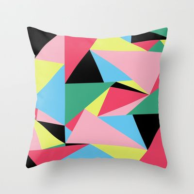 Love my Abstract Triangle Cushion!!
