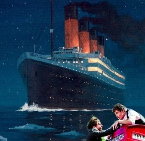i knew someone would make a joke of this!! lol called it!: Titanic 1D 3, Laughed Soooooo, 1Dhq Everything 1D, Cried Laughing, Smile