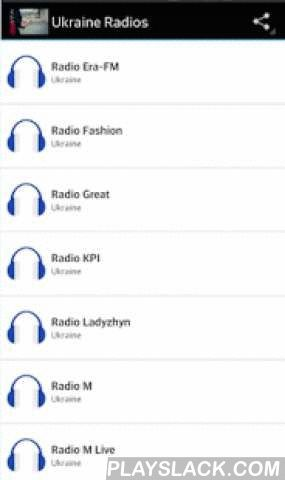 Ukraine Radios  Android App - playslack.com ,  Ukraine Radios They can listen to popular radio the Ukraine online on your phoneIssuers Catalog is officially provided by Your Owners through internet FIND the Following stations:-2 Promin-Kultura-Acoustic-Alternative Rock-Arystokrats FM-Avtoradio-Balkanskaja Muzyka-Best FM-Blysk FM-Business FM-CT FM-Colorsound-DJ FM-Dubstep-Electro House-Equalyza-Europa Plus-Gala Radio-Ilma-Lounge FM-Lounge Terrace-Lviv Wave-Magnolia FM-Mainstream Rock-Mid…
