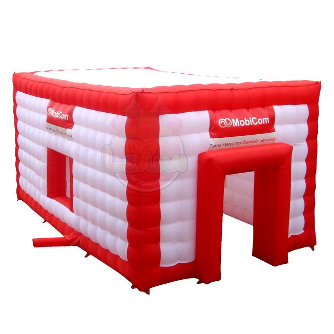 Inflatable cube tent for wedding and other activity, made with high quality materials and great design