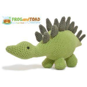 Stegosaurus Dinosaur – Amigurumi Crochet
