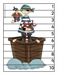 FREE pirate puzzle.