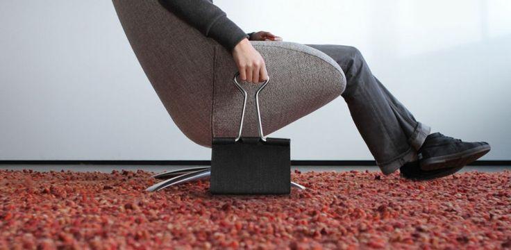Felt Clip Bag design by Peter Bristol | Tododesign by Arq4design