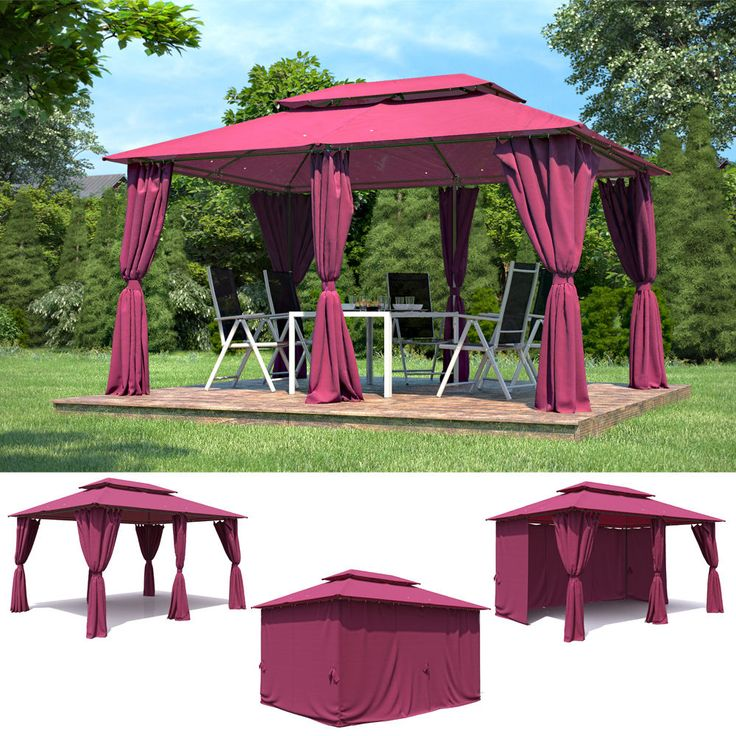 die 25 besten ideen zu gartenpavillon metall auf pinterest carport metall metallschuppen und. Black Bedroom Furniture Sets. Home Design Ideas