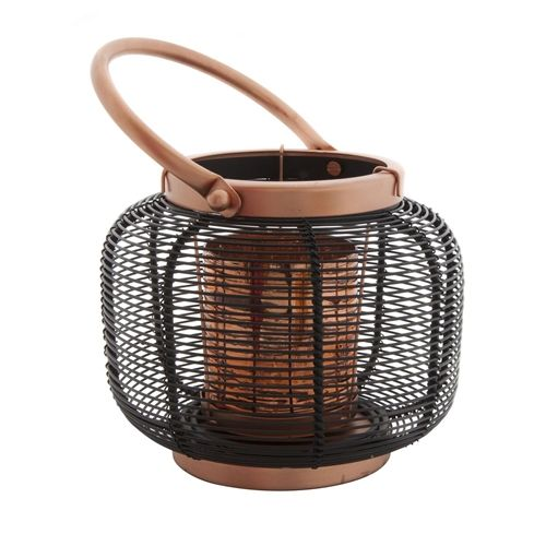 Koh Living Lantern Wire Anique Copper Black small