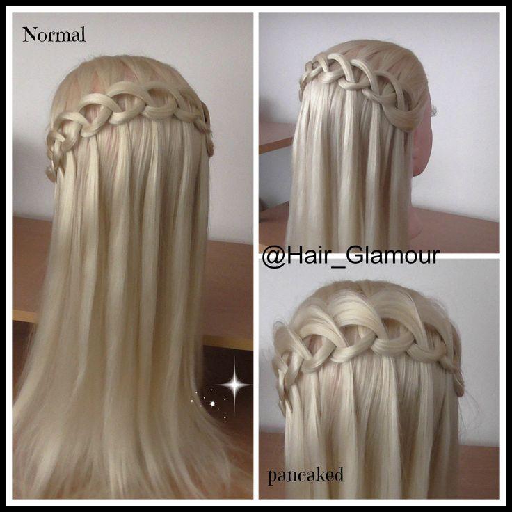 The New loop waterfall braid/ Hair Tutorial / HairGlamour