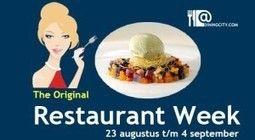 Italiaanse restaurants in de Restaurantweek, 23/8 - 4/9   Il Giornale, Italiekrant over Italiaanse zaken en smaken