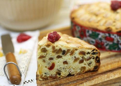 Фруктовый кекс Данди | Dundee Cake: Recipe (in Russian) and photo by Irina Chadeyeva #recipe #pastry #chadeyka