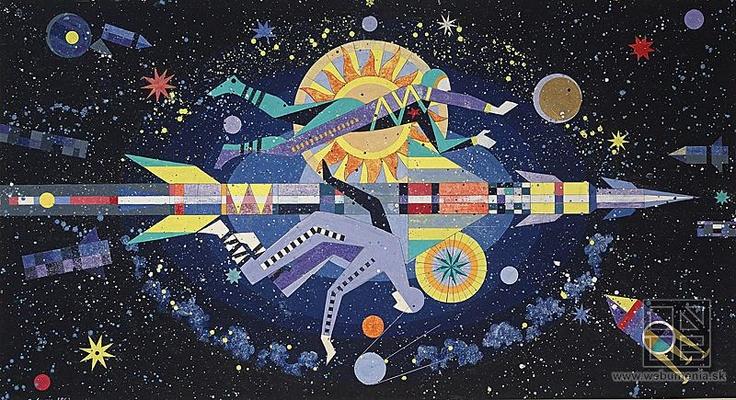 Ladislav Guderna: Astronauts I. / Astronauti I. (1962)