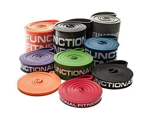 FF Pull up Band - #2 Red - 20 - 35 lbs. (9 - 16 kg) Resistance Functional Fitness http://www.amazon.com/dp/B00JS86L6W/ref=cm_sw_r_pi_dp_AQgxwb1RS77QD