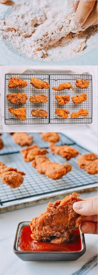 Korean Fried Chicken Tenders , recipe by the Woks of Life