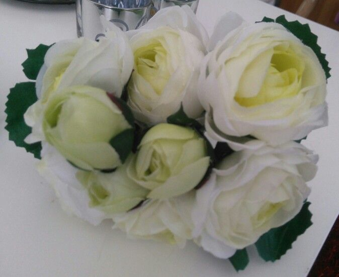 Bouquet to throw after the ceremony to one lucky gal.