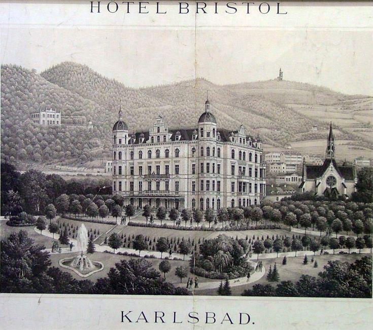 """SCHATLER J. : """"Hotel Bristol v Karlových Varech"""""""