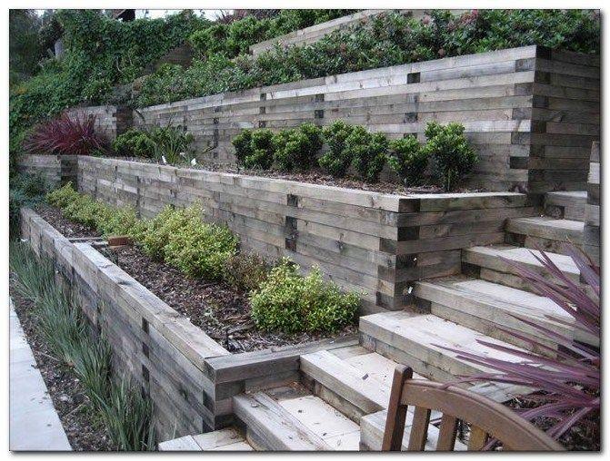 50 Awesome Backyard Landscaping Inspiration Sloped Backyard Backyard Hill Landscaping Steep Backyard